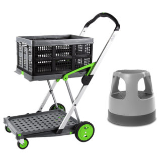 foldable box trolley